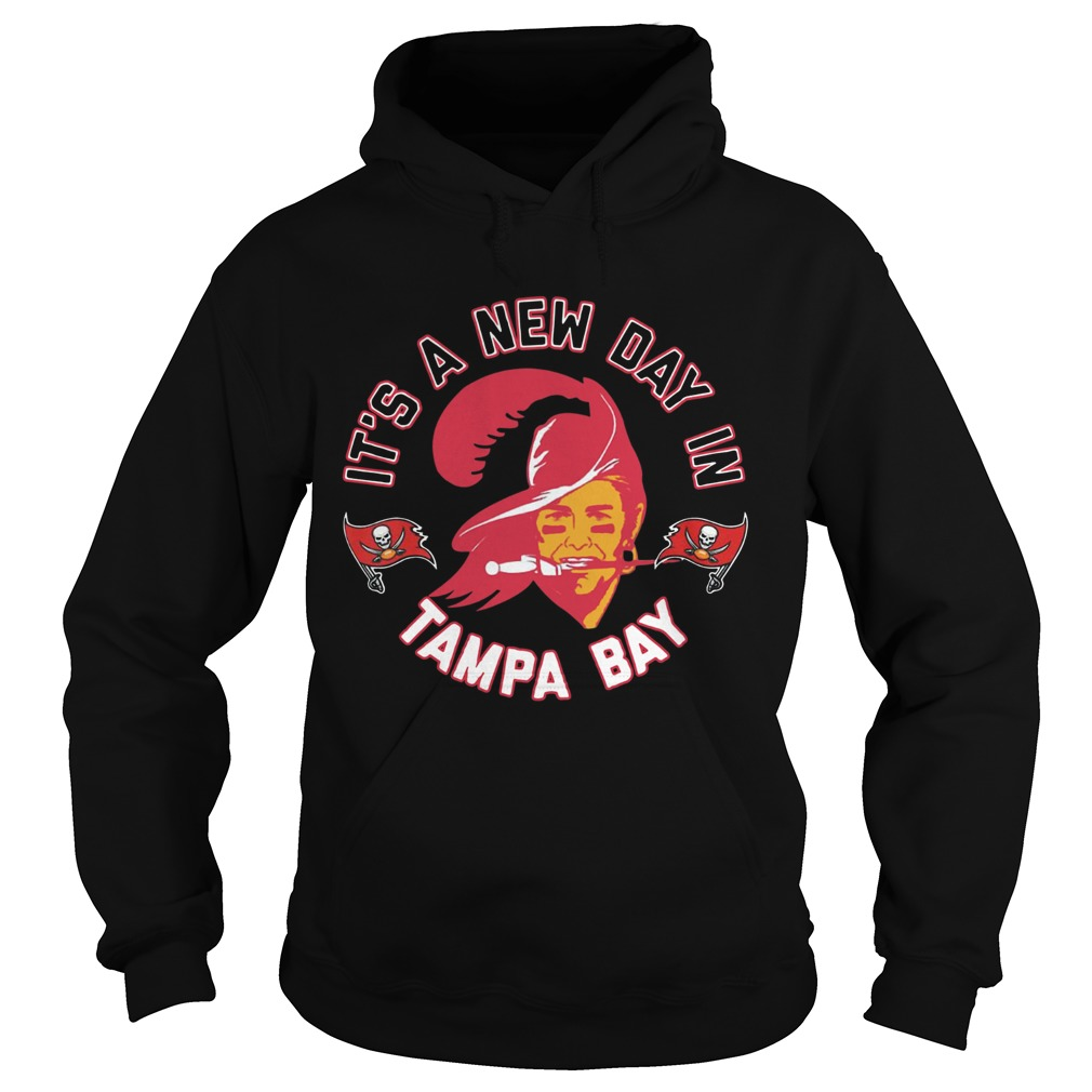 Bucco Brady Its A New Day In Tampa Bay Hoodie